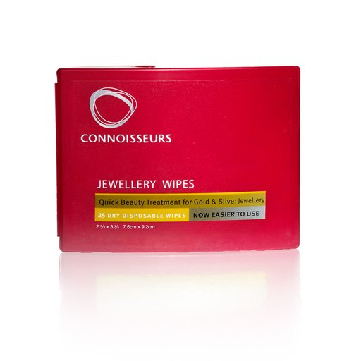 CONNOISSEURS JEWELLERY WIPES 6-PACK