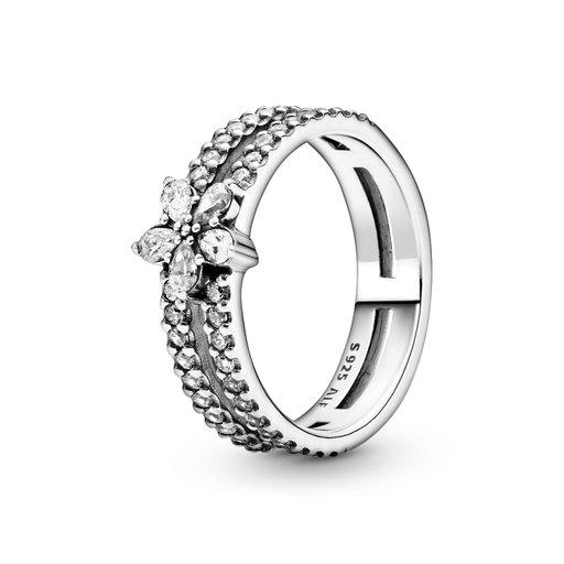 Ring i äkta silver, 16.5